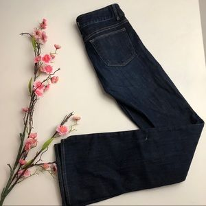 Gap 1969 Perfect Boot Long Inseam Dark wash jeans